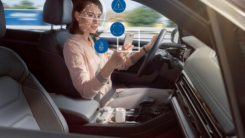Kameraüberwachung von Fahrer, Beifahrer und Passagieren soll für mehr Sicherheit sorgen