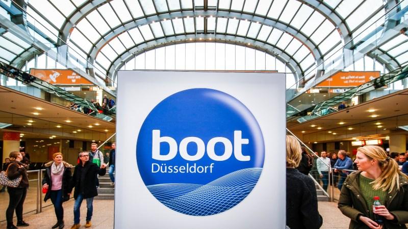 """Die """"boot 2020"""" sticht im Heimathafen Düsseldorf in See"""