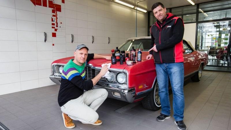 TRD-Backstage: Auto und Werkstatt