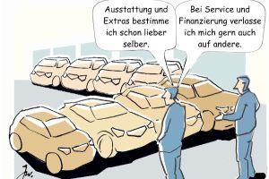 Die Deutschen lieben ihr Auto. © Goslar Institut / TRD mobil / trd press home