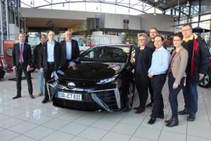 Toyota Delegation