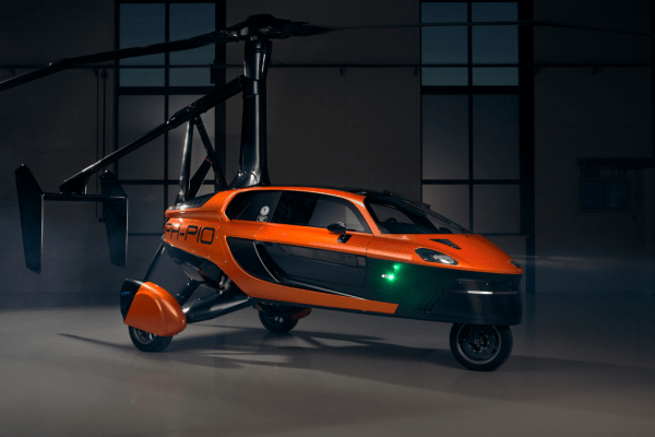 Der PAL-V Liberty ist eine Kombination aus einem Sportwagen und einem Tragschrauber.