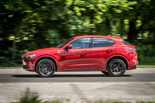 Der Alfa Stelvio liefert den Beweis, dass ein SUV nicht wie ein Mops aussehen muss.© Alfa Romeo /TRD mobil