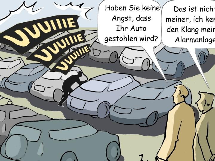 Die Zahl der Kfz-Diebstähle ist immer noch auf einem hohen Niveau. © Goslar Institut / TRD mobil