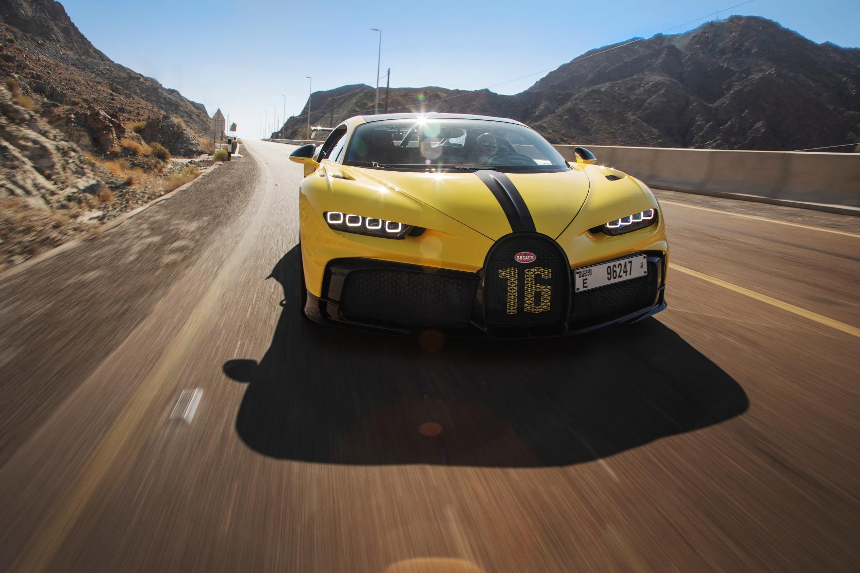 Britischer Le-Mans-Gewinner als Bugatti-Testfahrer unterwegs