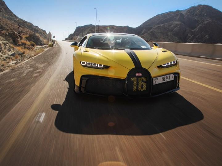Renn Bugatti in Dubai