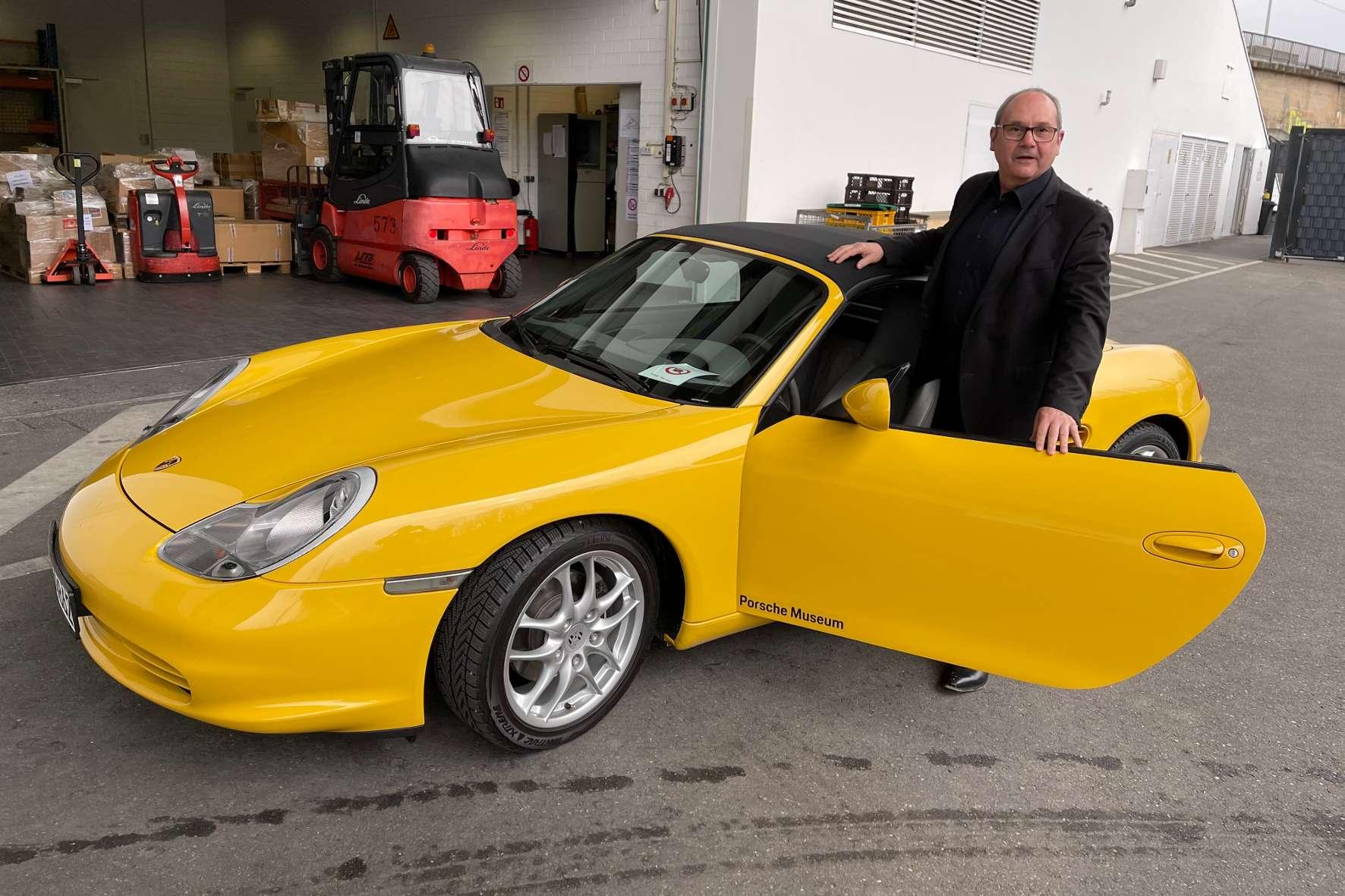 Porsches Ur-Boxster feiert seinen Ehrentag