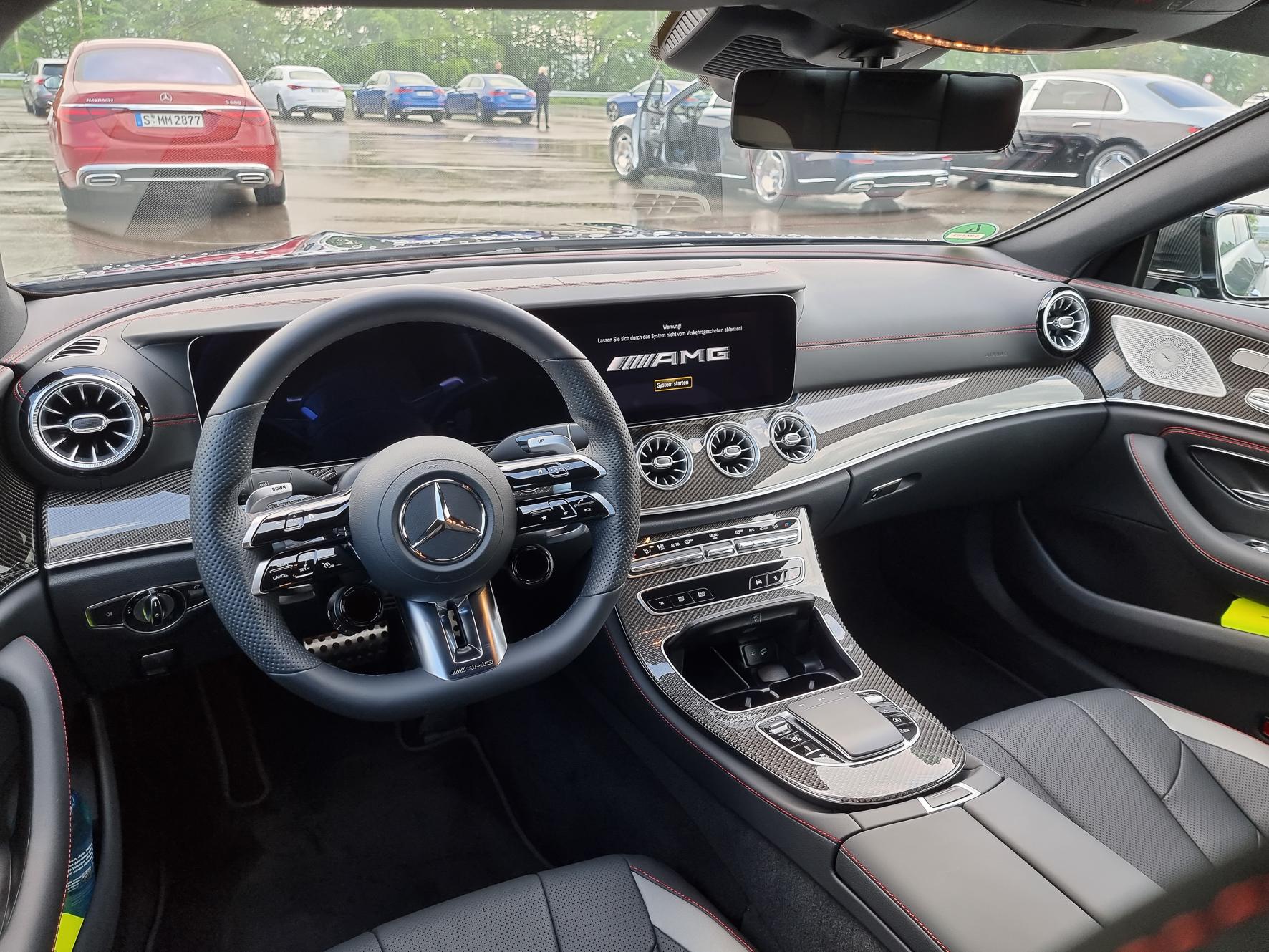 TOP-Cars: Mercedes AMG CLS 53 4MATIC+mit geschärftem Design