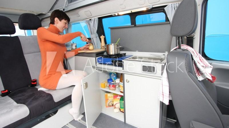 Reisemobil Küche