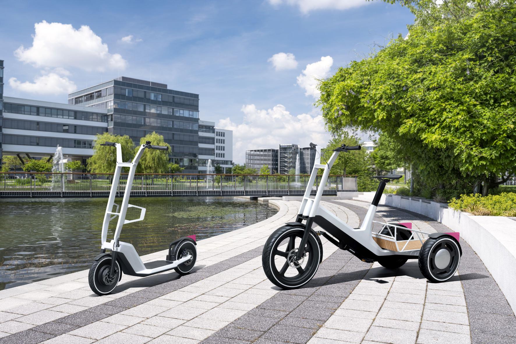 Bayerischer Autobauer präsentiert elektrisches Lastenfahrrad