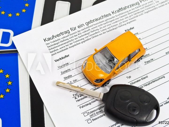 Kaufvertrag Gebrauchtswagen