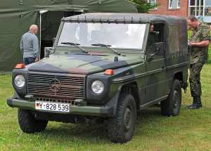 "Mercedes ""Wolf"" de la Bundeswehr (Source: Wikiwand)."
