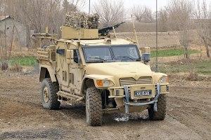 "Un TSV ""Husky"" de l'armée britannique, dérivé ... (Source: combatandsurvival.com)"