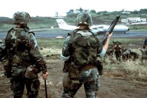 Ensemble balistique PASGT, US Airborne, Grenade, 1983.