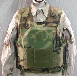 Protection balistique des US Rangers dans les années 1990-2000 (Source: specwargear.com).