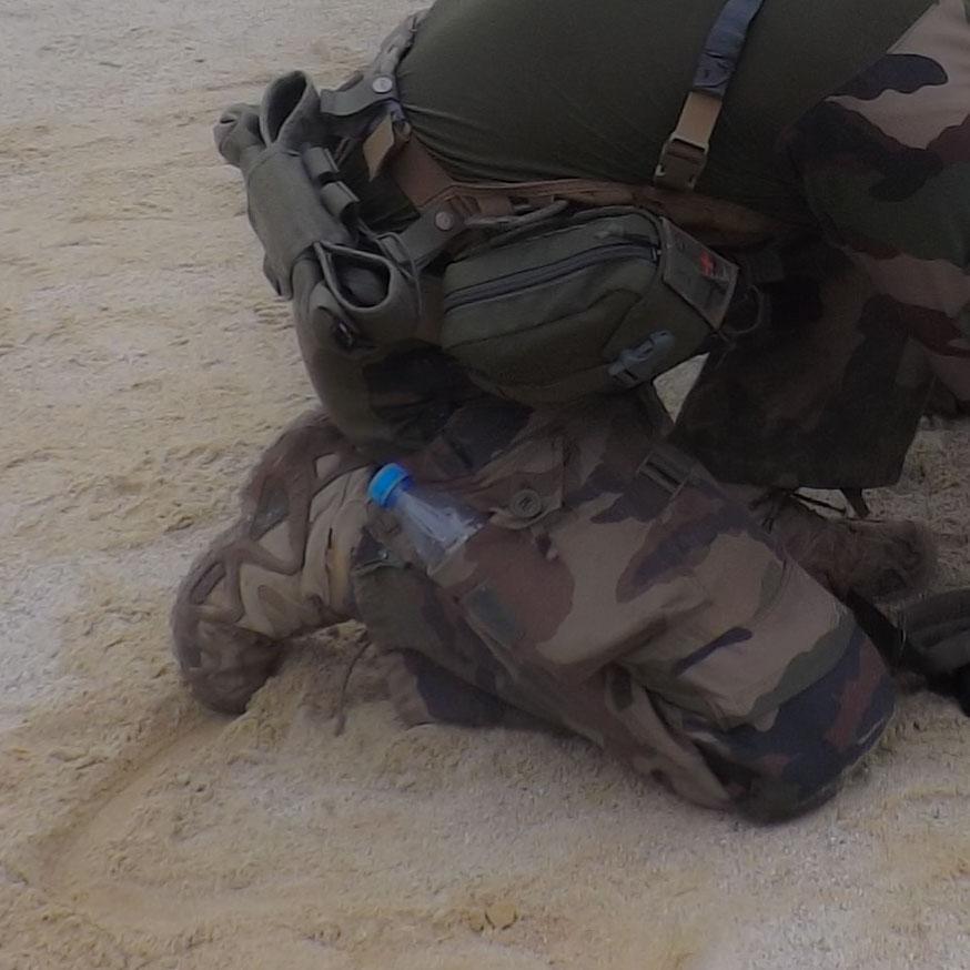 Utilisation sur sable par temps de pluie de la LOWA Zephyr GTX Mid