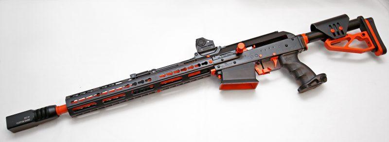 VEPR 12 avec RIS Keymod Dissident Arms (Image Dissident Arms).
