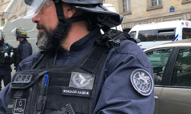 Fake News : l'EUROGENDFOR / FGE dans les manifestations