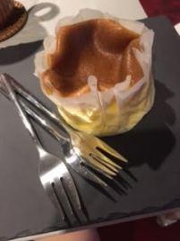 Melty honey cake