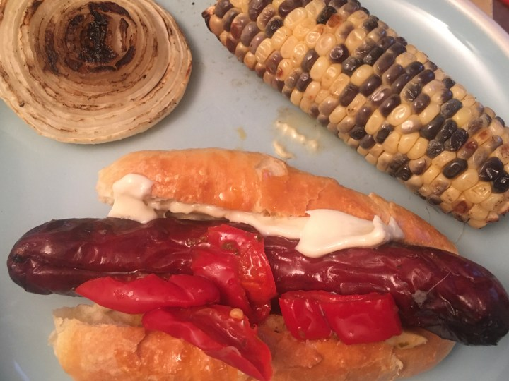 Homemade hot dog buns!