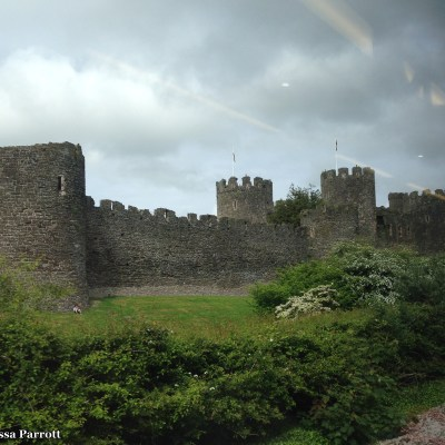 I also spottedConwy Castle from the train, it was built in the 13th century as an estuary fortress, whichhas been remarkably preserved.