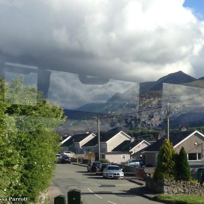 Heading through the village of Tregarth, nestled North of Snowdonia.