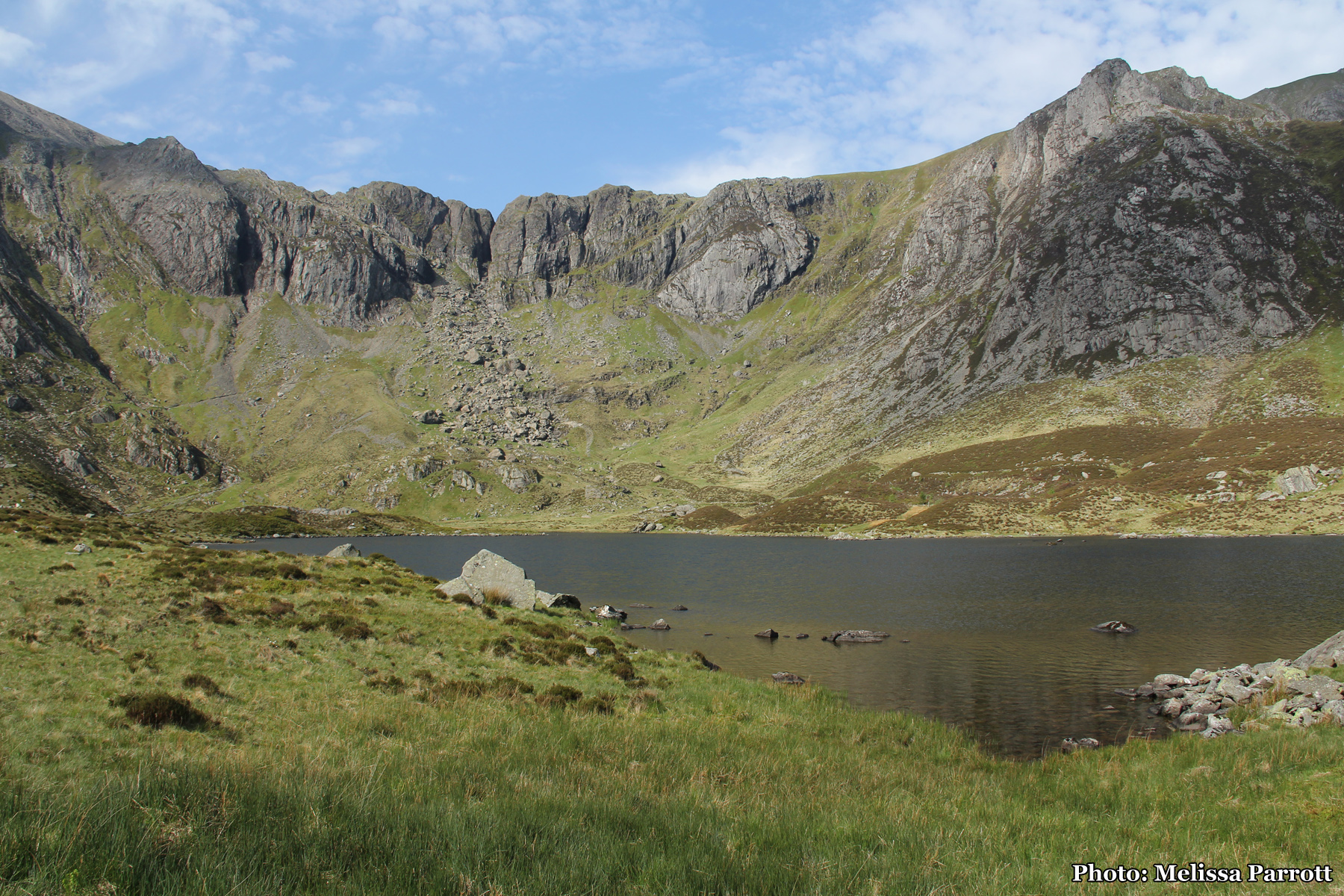 Scrambling up Glyder Fawr and The Nameless Cwm