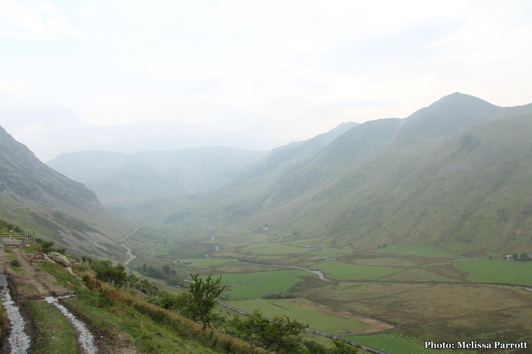 Up and down the Nant Ffrancon, Gwynedd