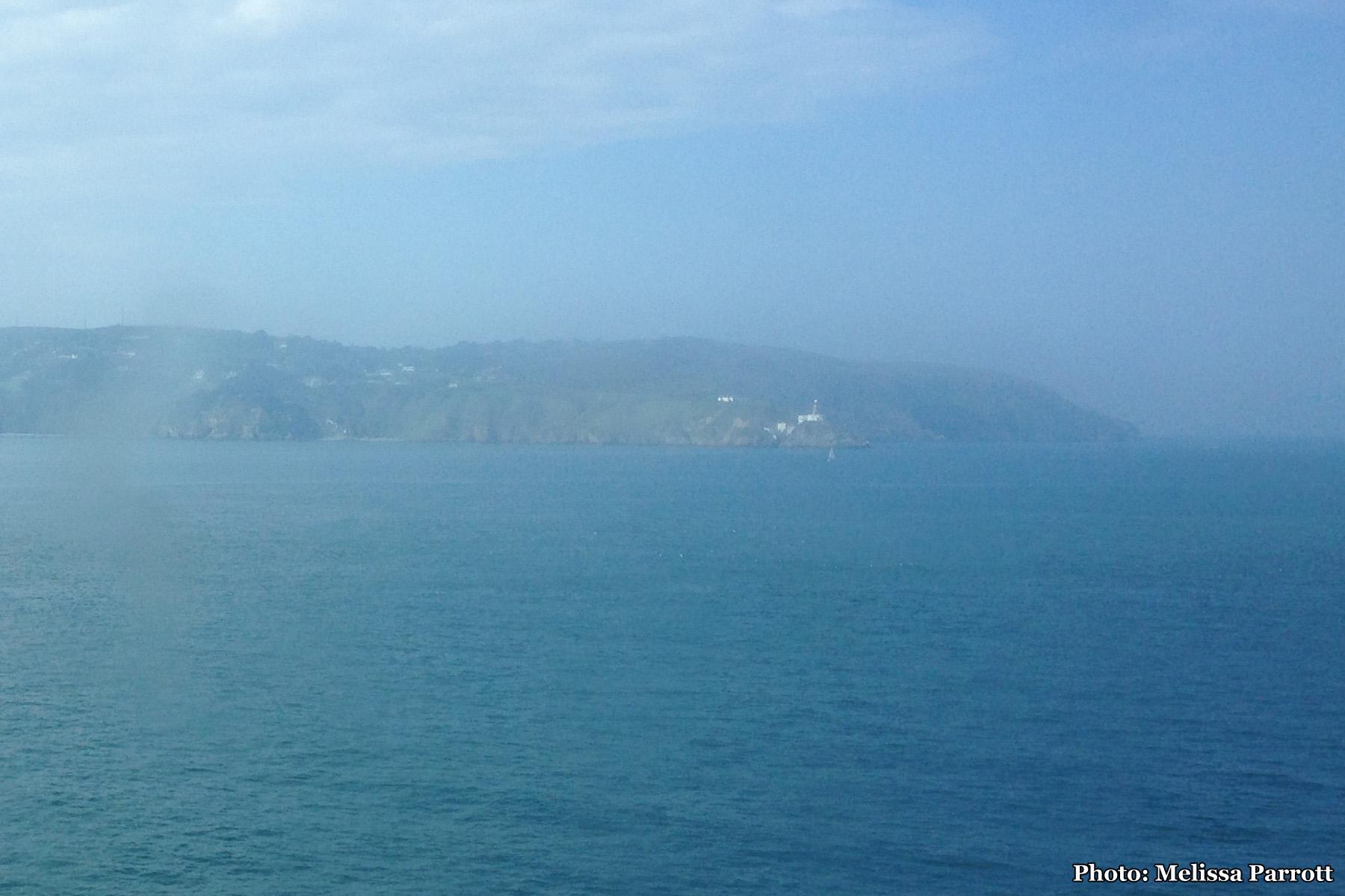 Across the Irish Sea -Approaching the Emerald Isle