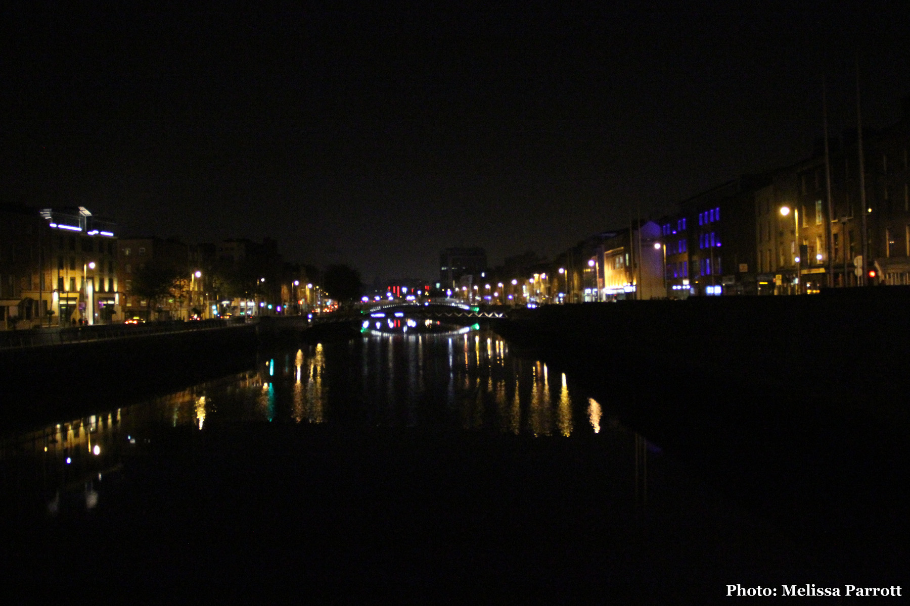 The Liffey at Night