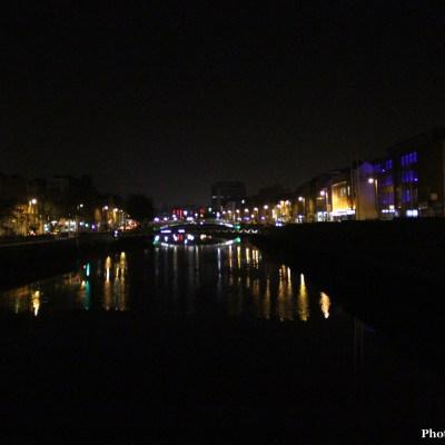 The Liffey at Night
