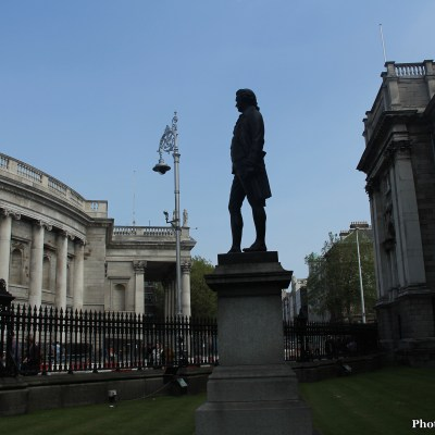 Outside Trinity College