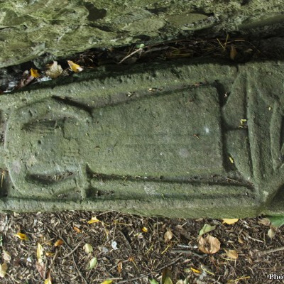 Medieval effigy 'The Abbess' at St John's Cemetery