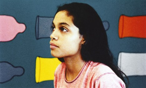 KIDS, Rosario Dawson, 1995, © Shining Excalibur Films/courtesy Everett Collection