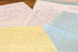 Letter writing reveals relationships