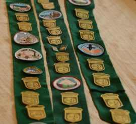displaying kids awards