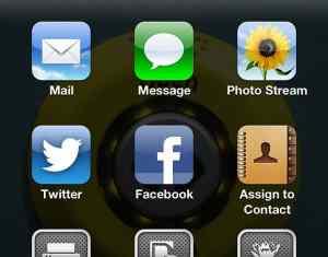 Sharing photos and memories via smartphone