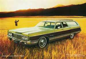 lazy days of summer in a station wagon