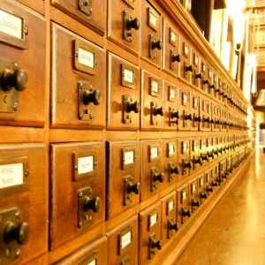 Repressed memories stuck in card catalog