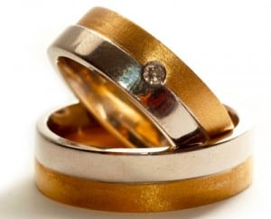 Wedding rings signify important life decisions