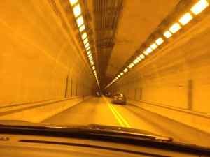 Tunnels benchmark road trip memories