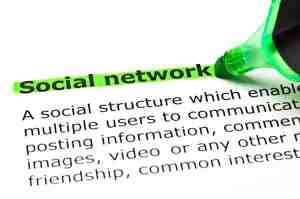 Using social media to network