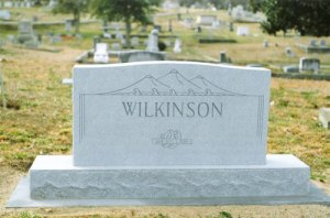 Wilkinson Grave Marker