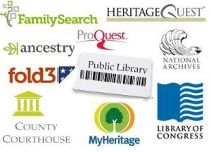 Genealogy resources for Memoirists
