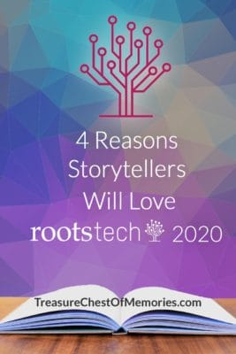 4 reasons storytellers will love Rootstech 2020 pinnable Image