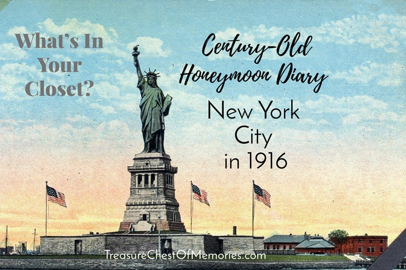 New York in 1916 Graphic