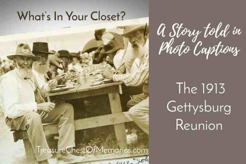 Graphic for A Story Told in Captions The 1913 Gettysburg Reunion
