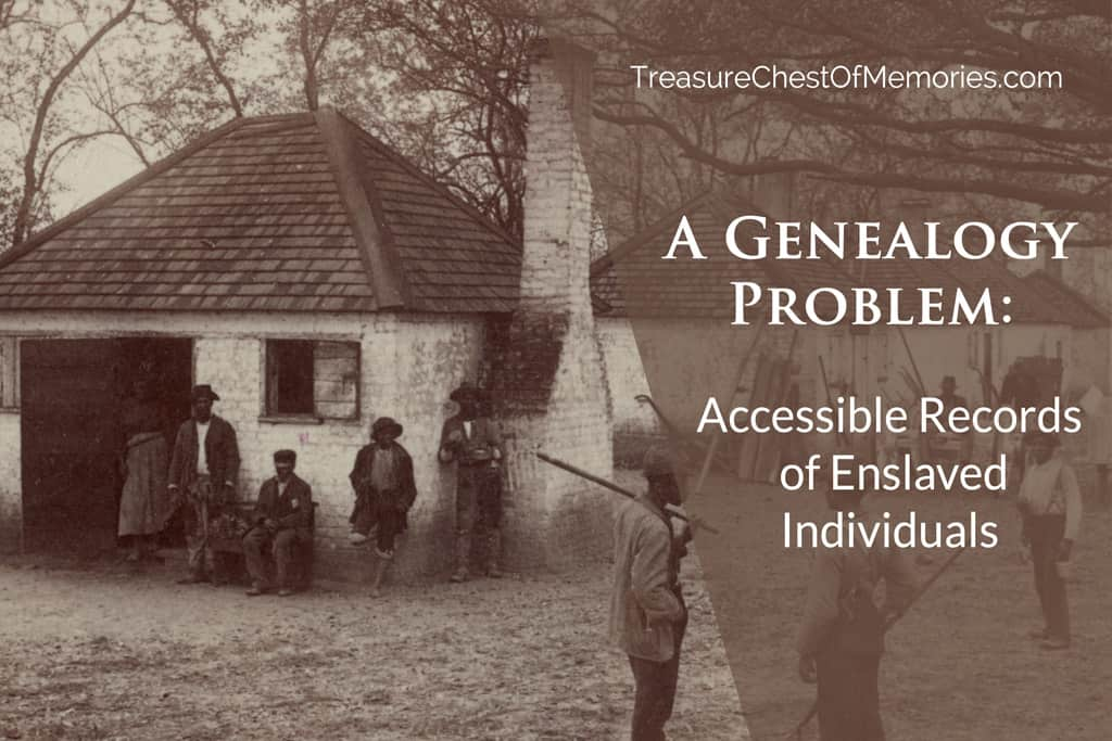 Accessible Records fo Enslaved Individuals Graphic