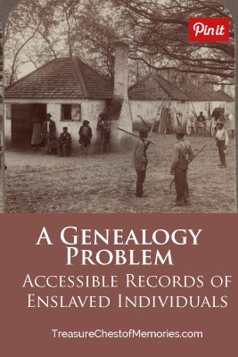 Accessible Records of Enslaved Individuals