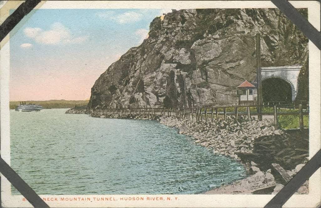 Bro - Something - Mountain Tunnel Postcard